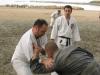 Antrenament Ju-Jitsu pe plaja